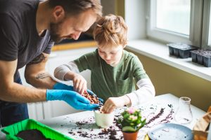 Father and son spending time together with plants iStock 1137930766 buyers advocate for doctors