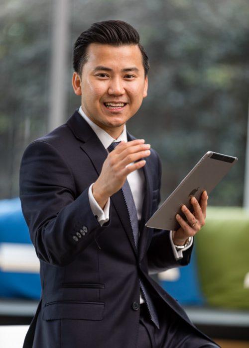 DPM Executive Portraiture - Kimsor Pan